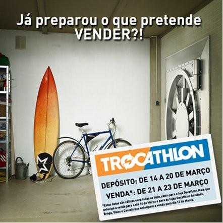Lembrete | TROCATHLON | de 14 a 20 março
