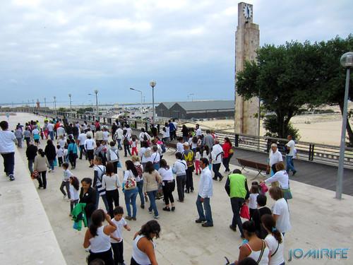"""Caminhada Solidária """"Coração Saudável, Coração Solidário"""" na Figueira da Foz - Esplanada Silva Guimarães (2) [en] Solidarity walk in Figueira da Foz Portugal"""