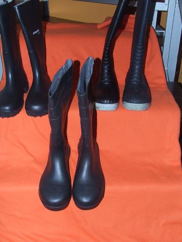 Botas de agua-Rubber boots-novas para venda .50%
