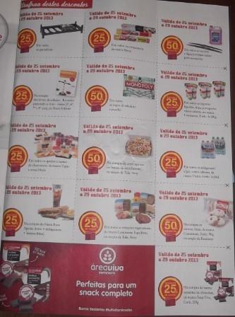 Cupões Outubro continente magazine