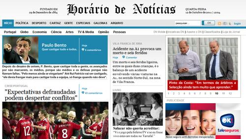 Más impressões sobre a Selecção Nacional na imprensa devido ao Dinamarca - Portugal