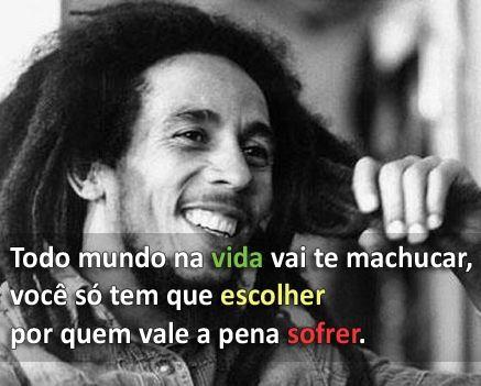 Conselhos De Bob Marley Vivendo E Aprendendo