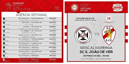 Cartaz Futebol SJVer