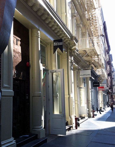 Loja Sapatos Melissa Nova Yorque New York brasil