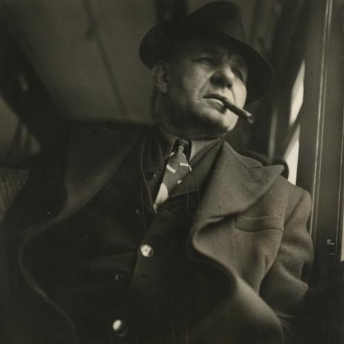 Man with cigar, 1948 - Sy Kattelson.jpg