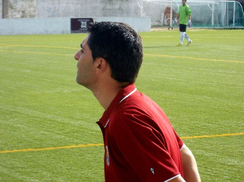 Alexandre Santana, selecionador distrital da AFsetubal; Foto:JoaquimF Candeias