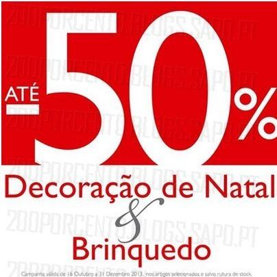 Até 50% desconto em Decoração de Natal e Brinquedos | DEBORLA |, até 31 Dezembro