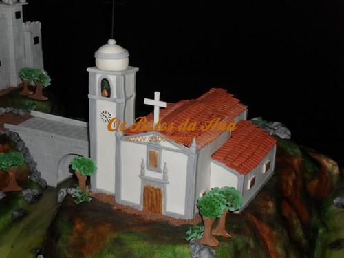 Bolo de Casamento - Igreja