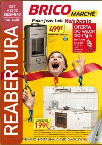 Novo Folheto | BRICOMARCHÉ | Portimão - Reabertura Loja, de 7 a 22 dezembro
