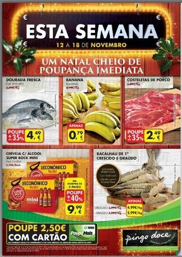 Novo Folheto   PINGO DOCE   já Online de 12 a 18 novembro