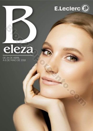 Antevisão Folheto E-LECLERC Beleza promoções de
