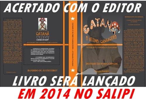CATANÃ/LANÇAMENTO/LIVRO EM 2014