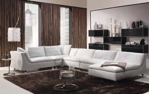 sofá de canto com chaise long