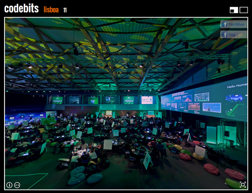 Panorama SAPO Codebits 2011