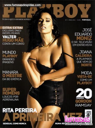 Rita Pereira Playboy