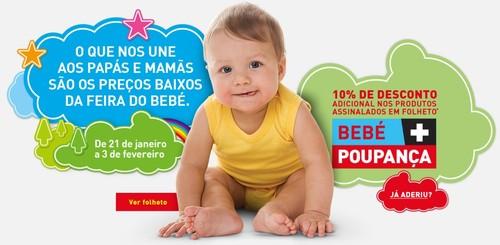 10% de desconto extra | INTERMARCHÉ | Feira do Bebé