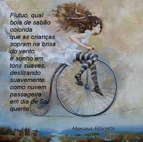 Poema Otília Martel (Menina Marota), pintura de autor desconhecido