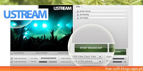 transmitir em vídeo um evento ao vivo pela internet em tempo real - Ustream