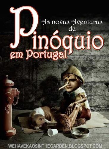As novas aventuras do Pinóquio Passos Coelho