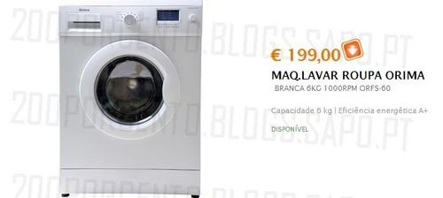 Campanha | BOX - JUMBO | Máquina Lavar, de 3 a 7 novembro