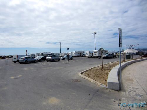 Figueira da Foz: Estacionamento de Caravanas no Parque das Gaivotas é pago (2) Entrada [en] Caravan parking in Park Seagull is paid in Figueira da Foz, Portugal
