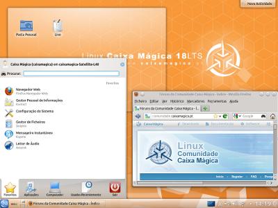 Caixa Mágica 18 KDE