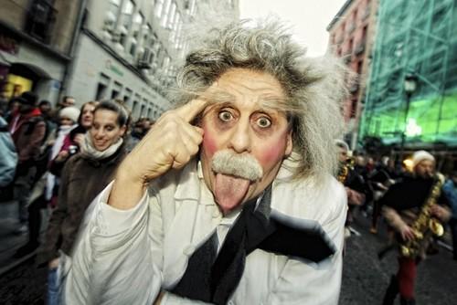 Disfraz de Einstein
