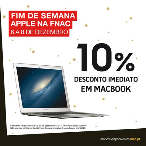 10% desconto | FNAC | Macbook