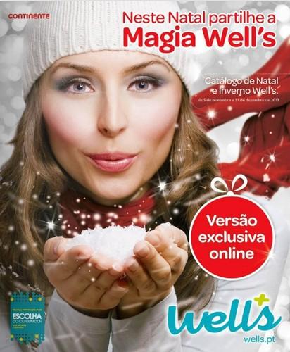 Antevisão Novo Folheto Natal 2013 | WELLS | de 5 novembro a 31 dezembro