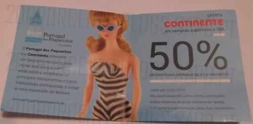 50% de desconto | CONTINENTE | Portugal dos Pequeninos
