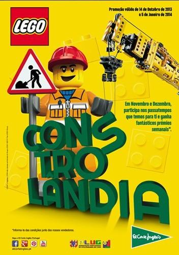 Promoção Lego | EL CORTE INGLÉS |, até 5 Janeiro 2014
