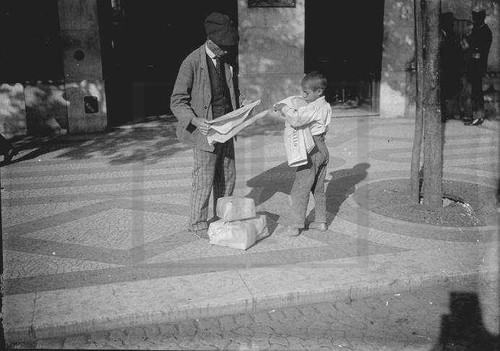 Pequeno ardina, Lisboa (A.N.T.T., «O Século», Joshua Benoliel, lote 08, cx. 06, neg. 03)