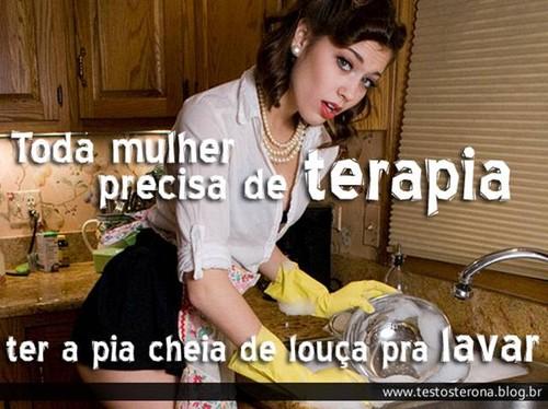 Toda mulher precisa de terapia