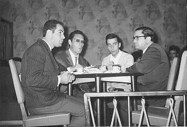 Nelson Camacho, Tristão da Silva Jr. e Arlindo Conde