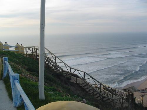 Miradouro sobre a Praia de Ribeira d'Ilhas