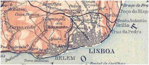 mapa de lisboa antiga Delito de Opinião mapa de lisboa antiga