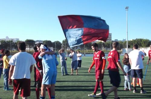 O Clube Desportivo da Cova da Piedade que ficara isento na 1ª  eliminatória ac0b5cf4ee2e4