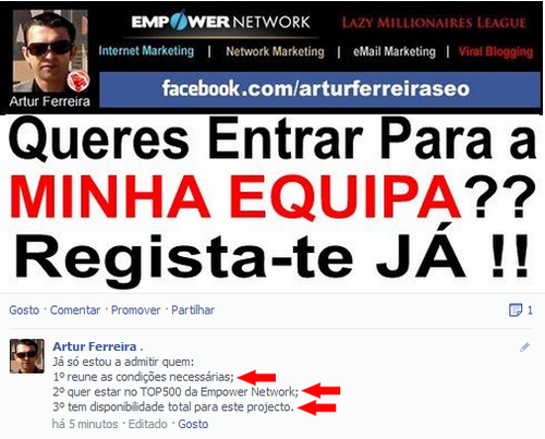 Empower Network em Portugal