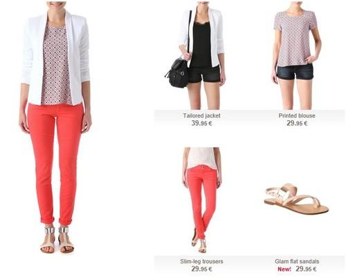 f0b27bf52 Promod Sugestões Looks Primavera 2014 - Apanhado da Moda