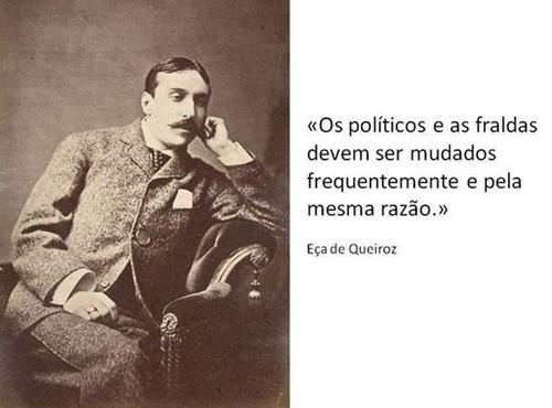 Os políticos e as Fraldas