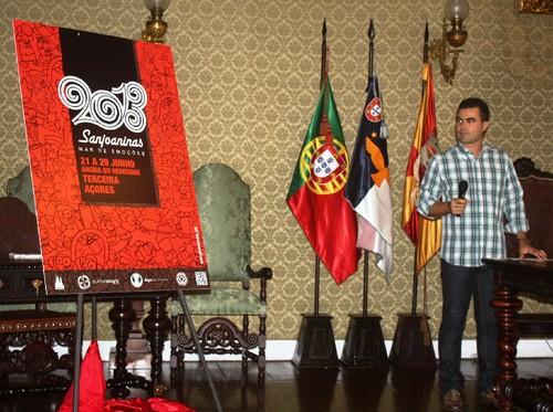 Ricardo Matias revela a imagem das festas de 2013...