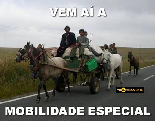 mobilidade especial