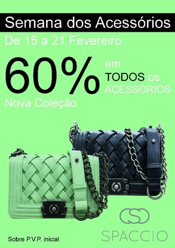 Promoção | FREEPORT | Spaccio - 60% em acessórios