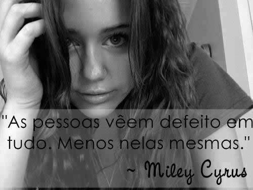 Miley Cirus no Facebook