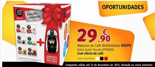 Promoção | BOX - JUMBO | Máquina Multibebidas Krups, até 21 novembro