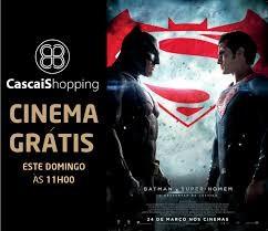 CINEMA GRÁTIS NA NOS