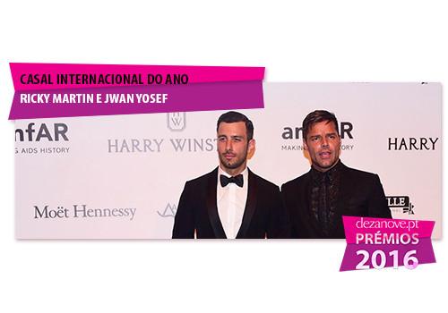 Casal Internacional do Ano - Ricky Martin e Jwan Y
