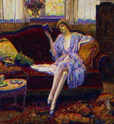 Pintura de Wilson Henry Irvine