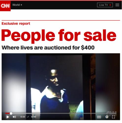 escravatura líbia CNN
