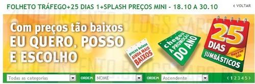Novo Folheto | JUMBO | 25 Dias, Online